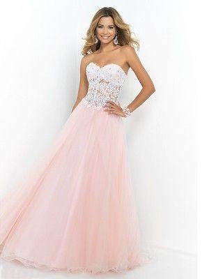 rosa balklänning glitter