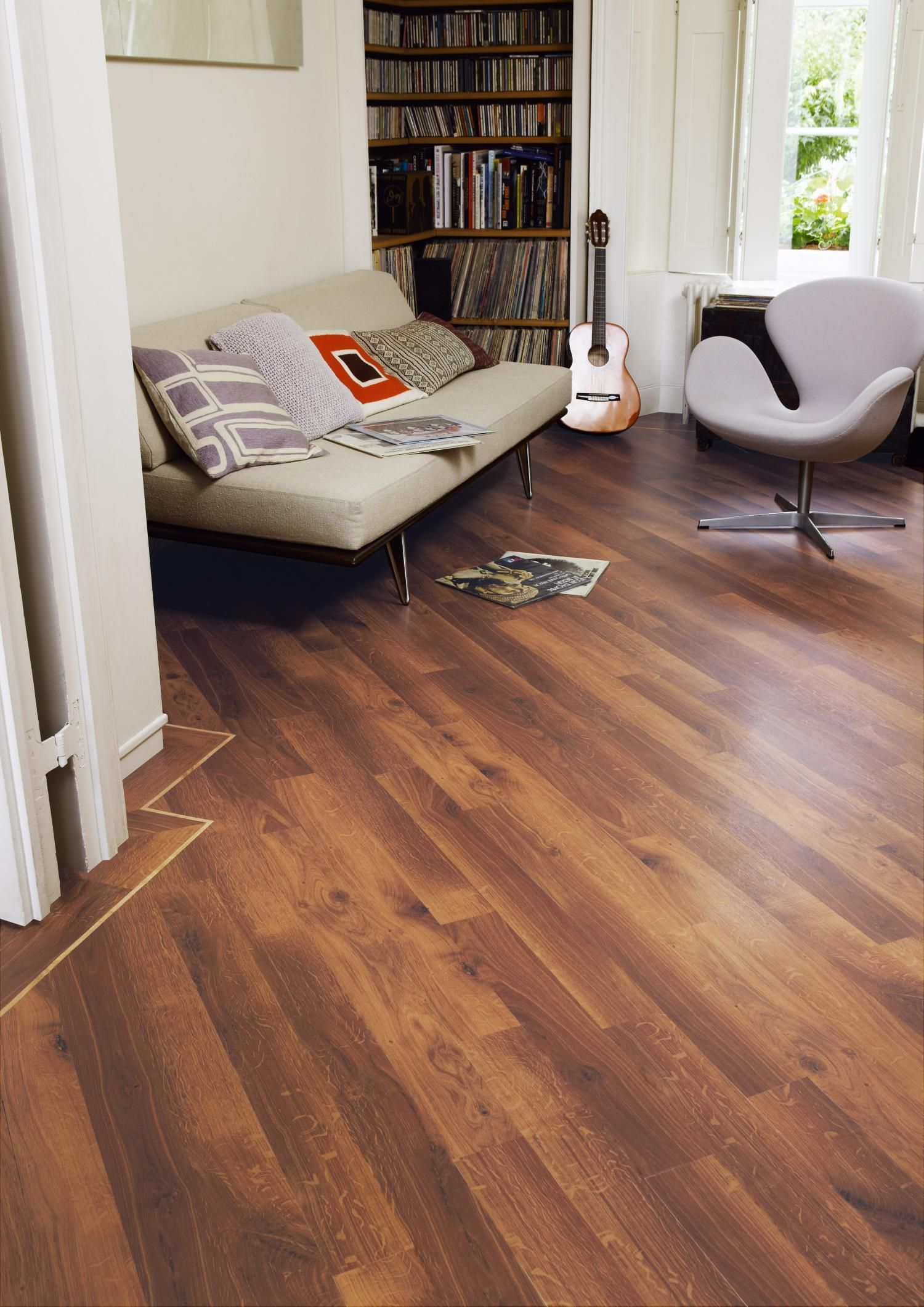 karndean vinyl plank flooring prices smoked oak | Karndean Knight Tile Edwardian Oak Vinyl Flooring