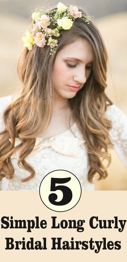 hair styles pintrest 50 simple bridal hairstyles for curly hair hairstyles 5189