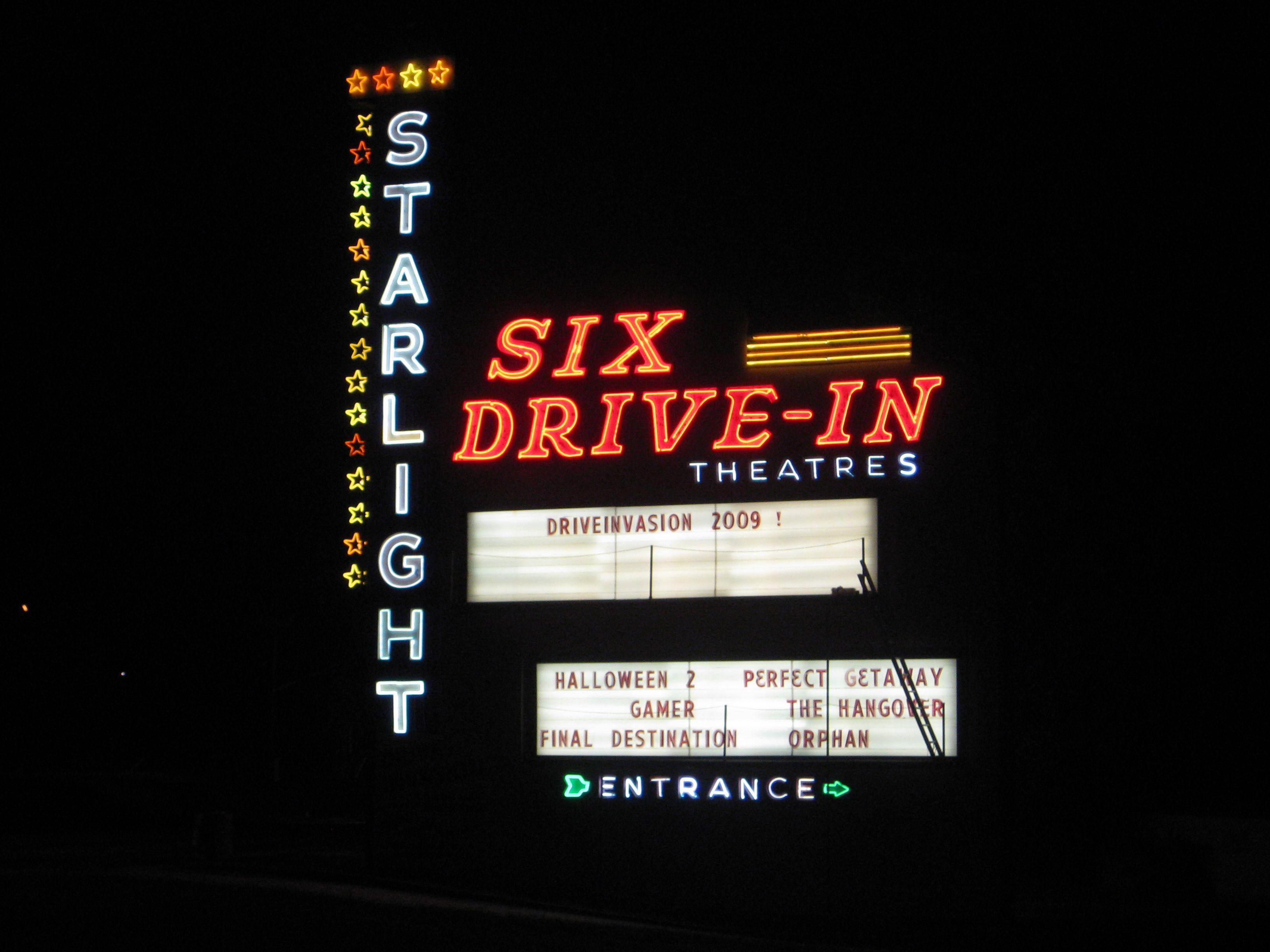 Starlight Six DriveIn, Atlanta, GA Drive in theater
