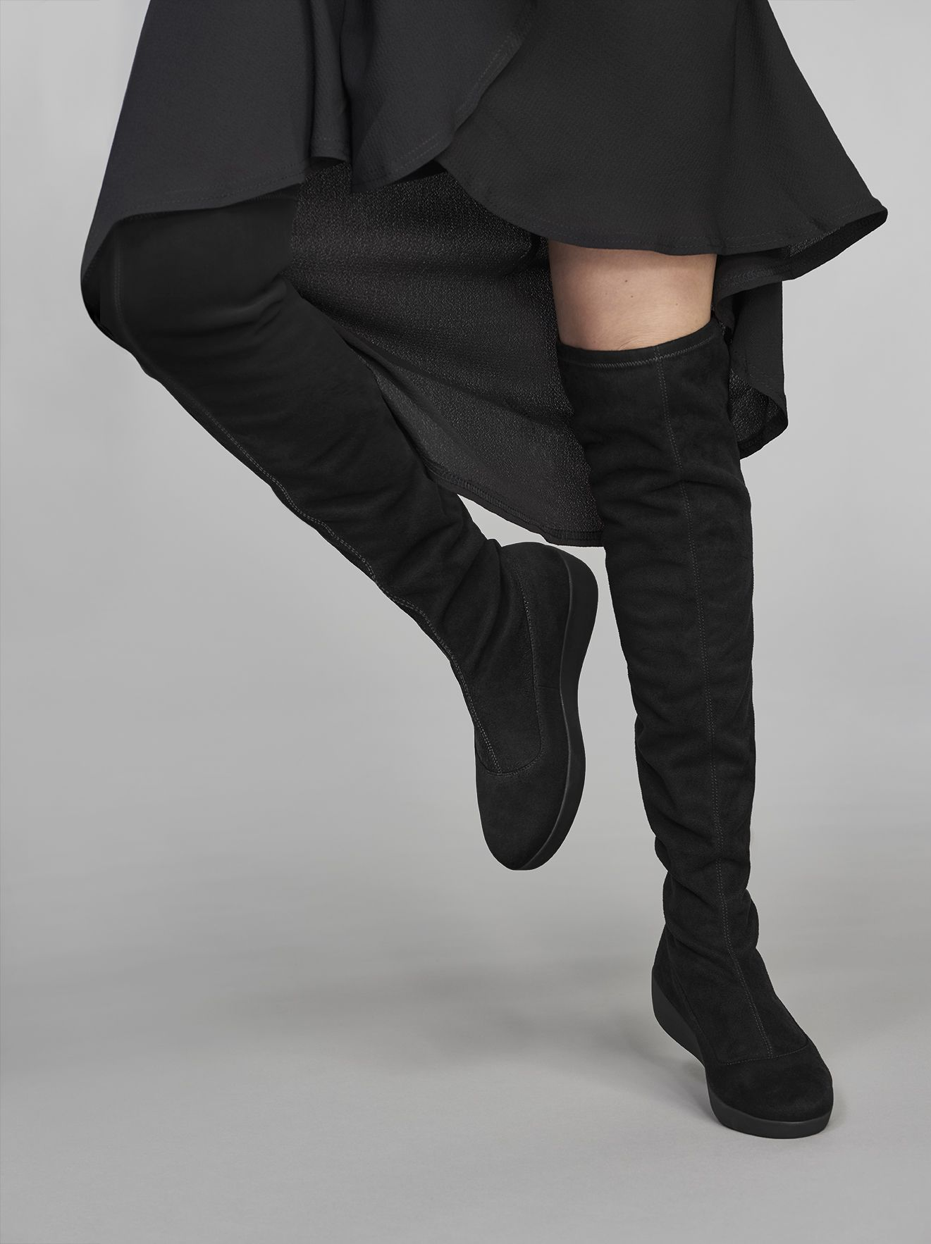 Boots | ALICE Over-The-Knee Sock Boots