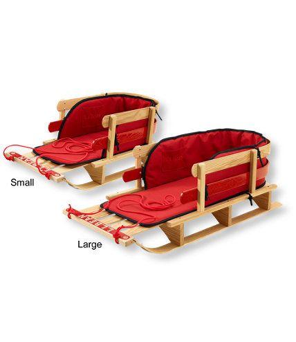 Kids' Pull Sled and Cushion Set: Sleds at L.L.Bean | Oh Baby ...