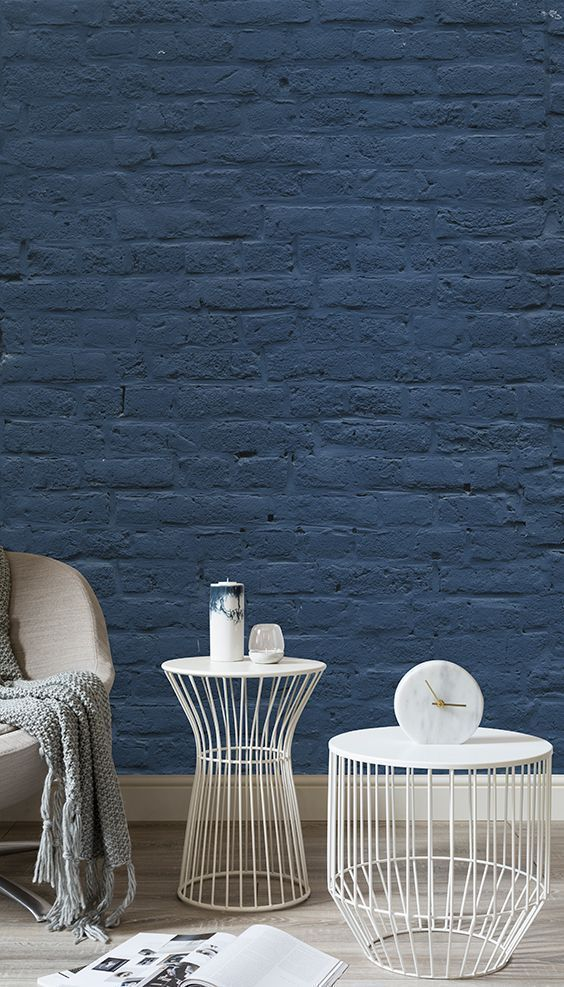 11 Coolest Interior Brick Wall Paint Ideas For A Stylish Look images