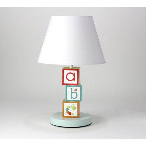 Nurture Imagination My Abcs Nursery 16 H Table Lamp With Empire Shade Nursery Lamp Alphabet Nursery Lamp