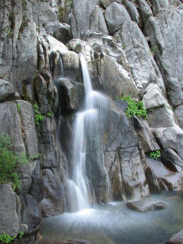 Lower Chilnualna Falls | Our Yosemite Wedding | Forrest fenn