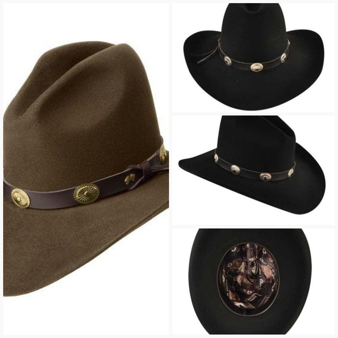 Bailey s Western 2x Tombstone 4 Inch Brim Gus Crease Felt Wool Hat Item  W0602G  SmokinJimWesternWear 73c39a25f8c8