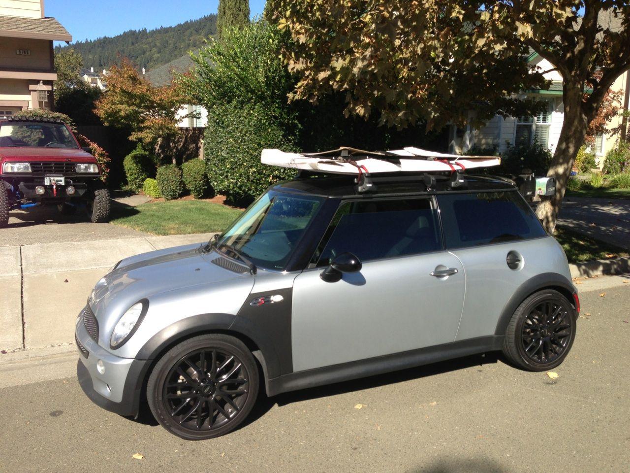 MINI COOPER S ROOF RACK USE | The Garage | Pinterest ...