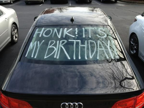 decorate car for birthday Birthdays Pinterest Decorating