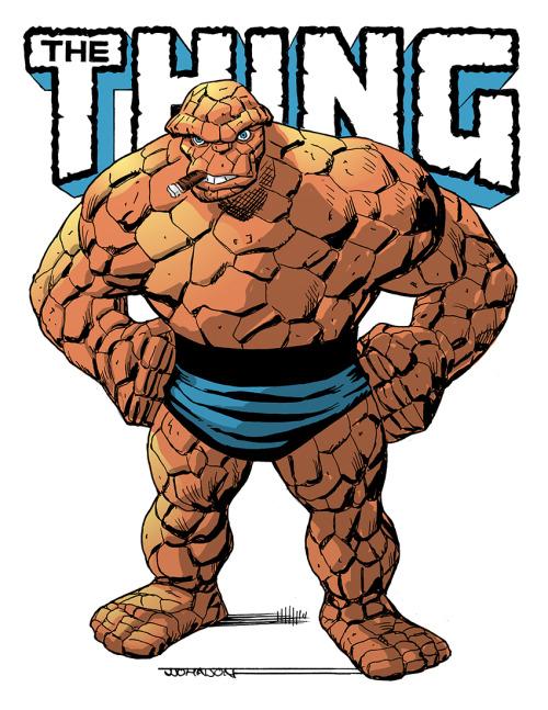 The Thing Jj Orlason Comic Books Art Comic Books Fantastic Four