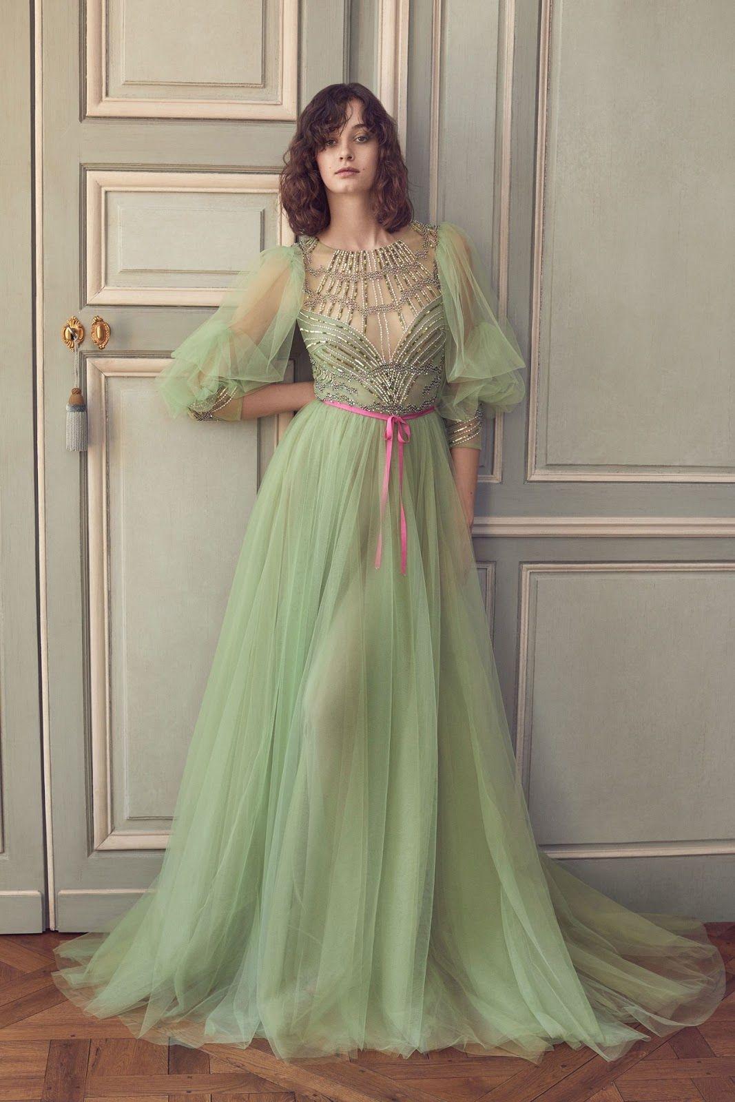 Feminine and elegant gowns monique lhuillier july