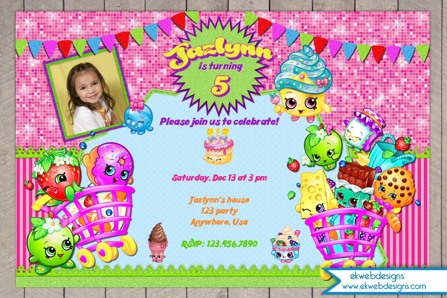 78+ images about Shopkins on Pinterest | Birthdays, Birthday ...