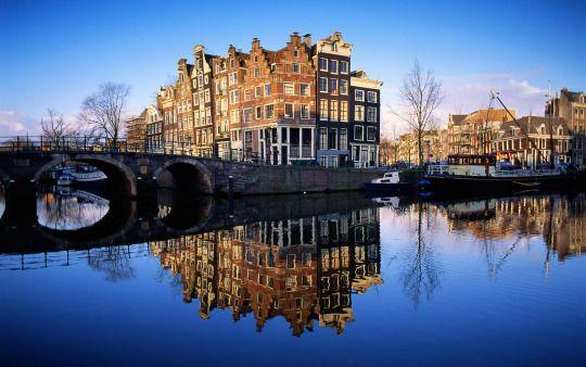 Cherish the Watery Ecstasies of Amsterdam