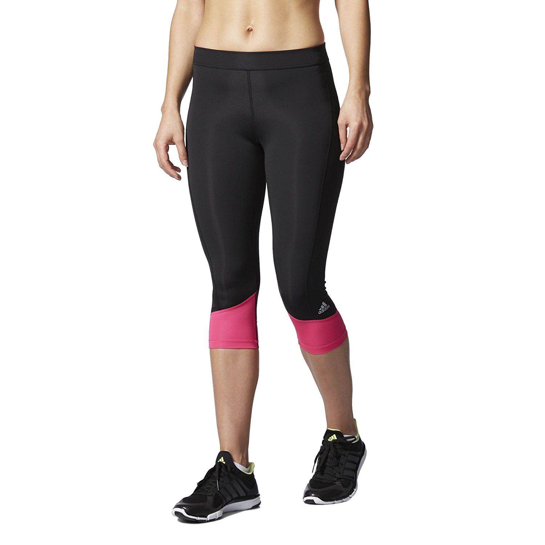 b9c996858072 Adidas Women Training Techfit Capri Running Fitness   Yoga Tights in  Clothing