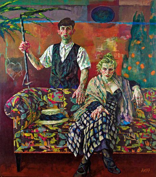 Künstler Maler Az künstler a z xenia hausner lot 0144 im kinsky auktionshaus