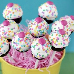 Cupcake Pops Using Cake Pop Mold
