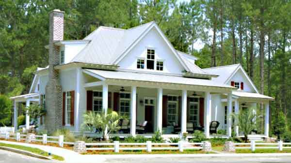 love the guest house and master being separate southern living plans