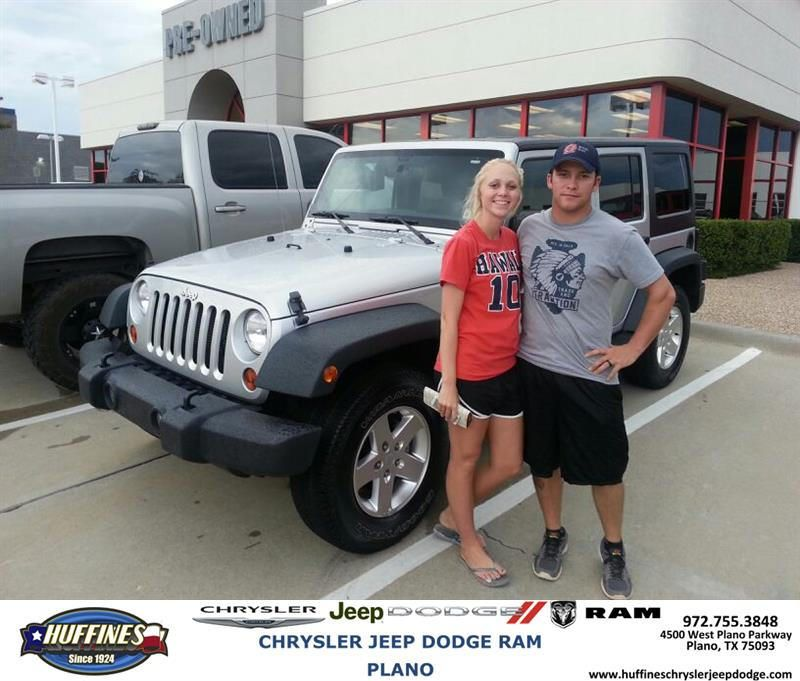 Congratulations To Taylor Miller On Your Unlimited Purchase From Nick Ross  At Huffines Chrysler Jeep Dodge RAM Plano!