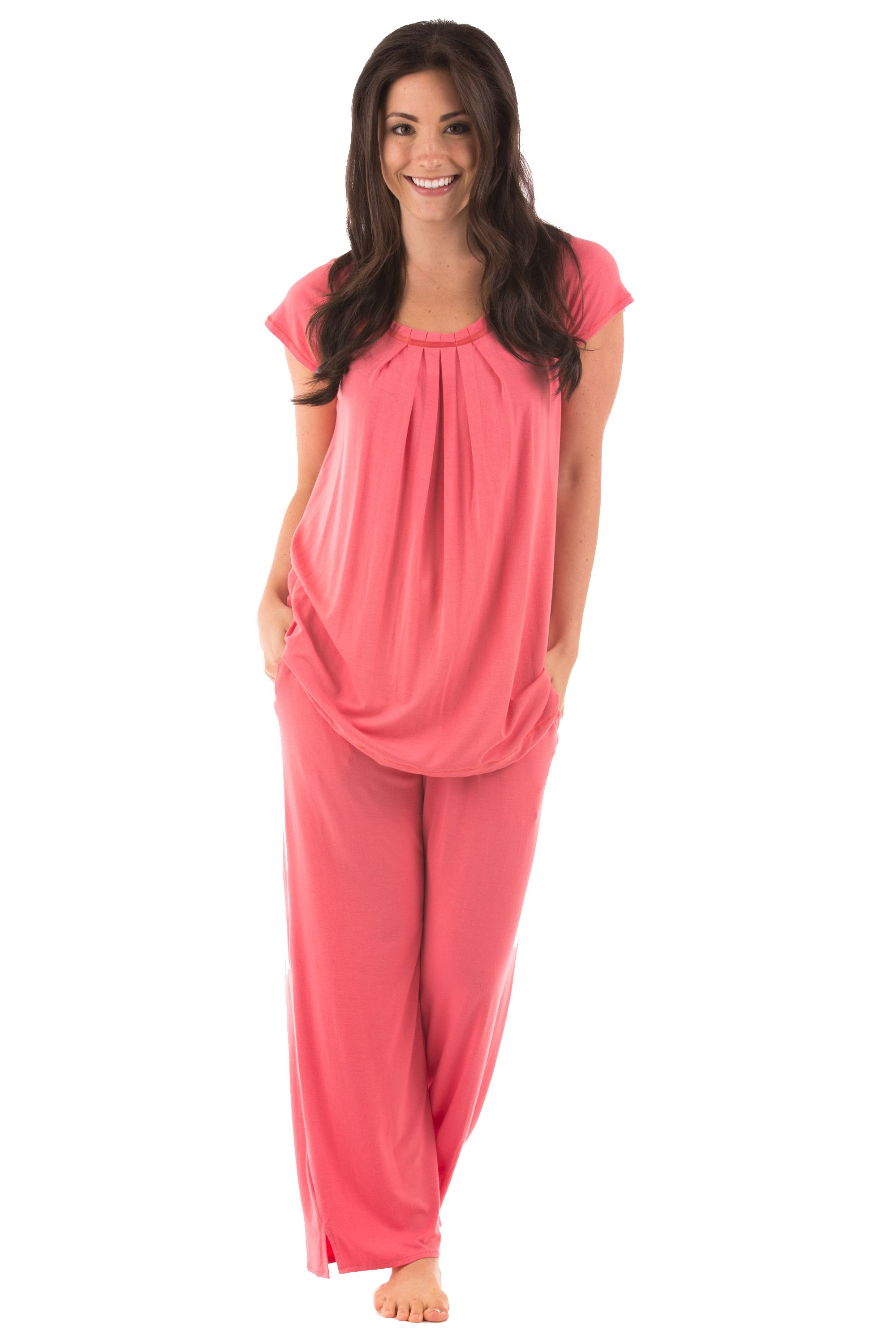 Terexe Bamboo Bliss  Women s Bamboo Pajamas  6ac77fb64