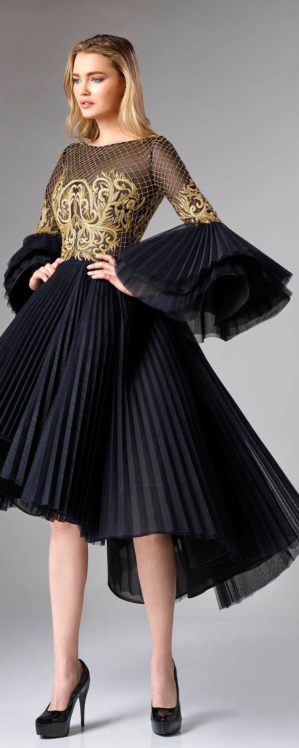 Lace dress midi march 2019 Edward Arsouni ucDivinaud FW   Couture  Haute Couture