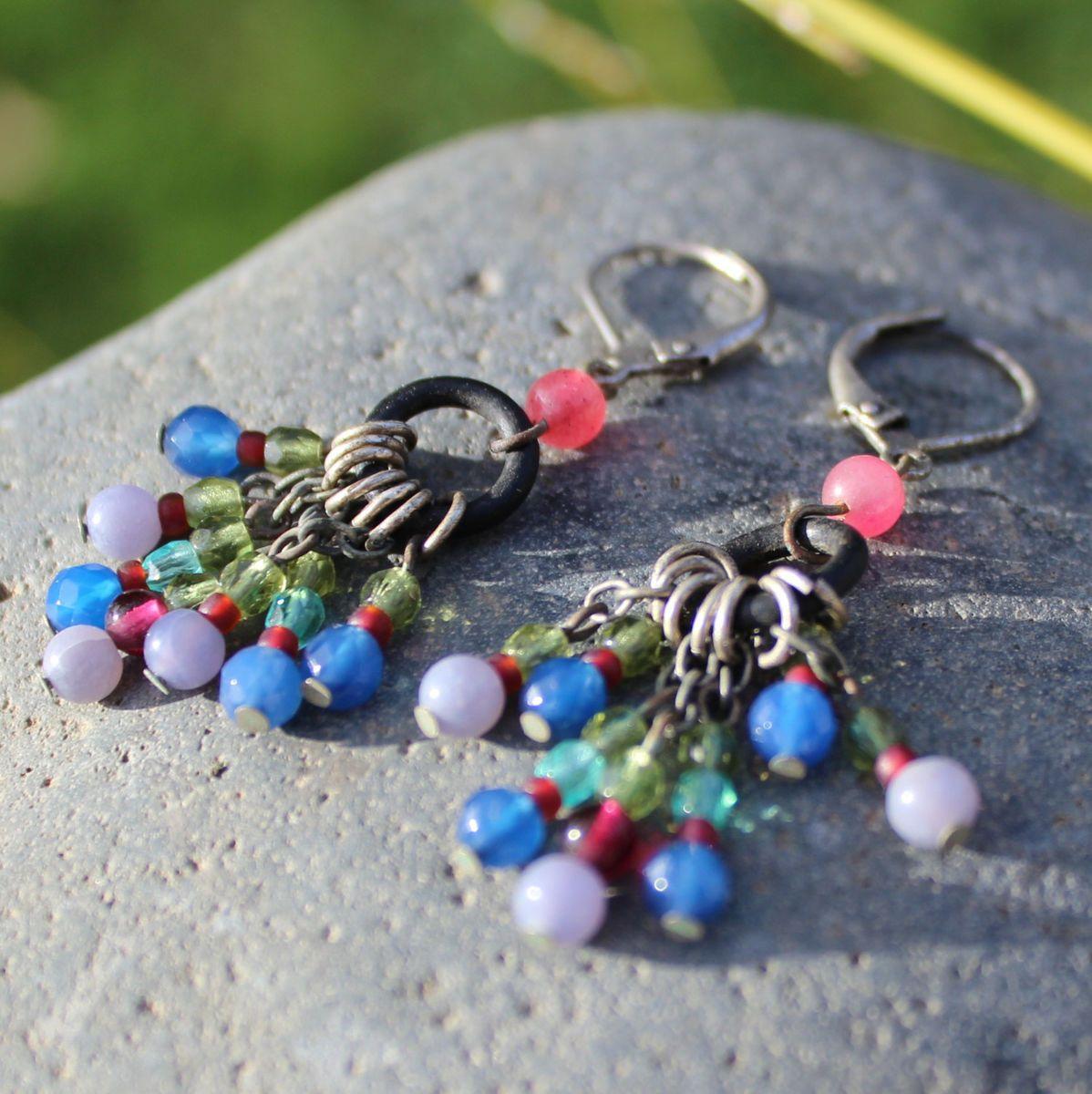 Chandeliers earrings bridal boho earrings gypsy earrings chandeliers earrings bridal boho earrings gypsy earrings hippie long earrings boho earring aloadofball Images