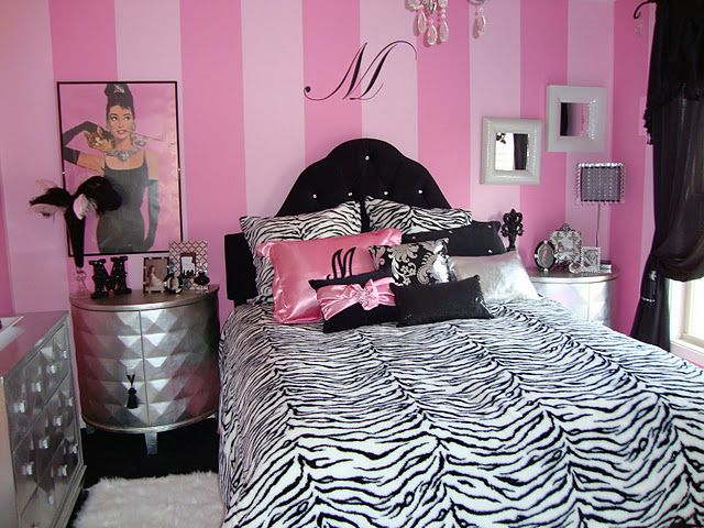 gossip girl with glamour room design ideas | Different, crazy, girly Hollywood Glamour bedroom idea ...