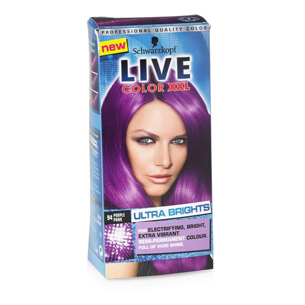 Schwarzkopf Live Ultra Brights Or Pastel Purple Punk 094 Semi