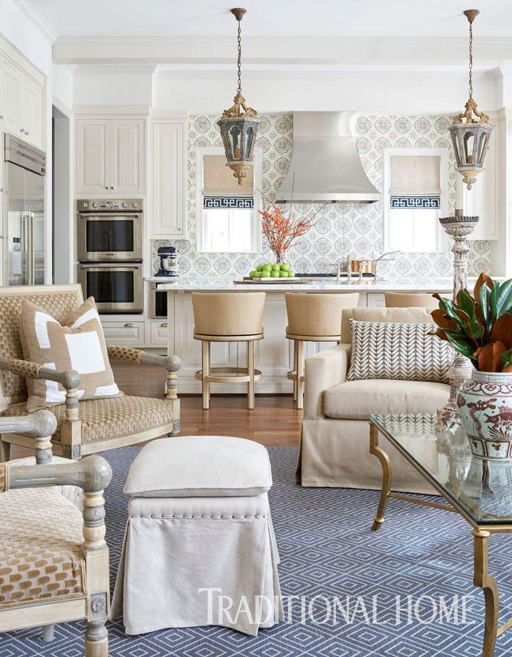 Traditional Home Interiors elegant yet edgy houston home | traditional home | interior design