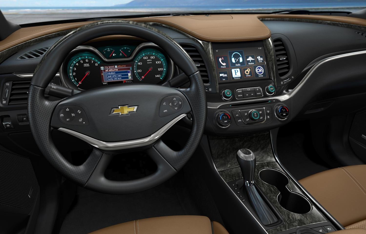 General Motors Plans Android Based Infotainment System Chevrolet Impala Chevy Impala Impala