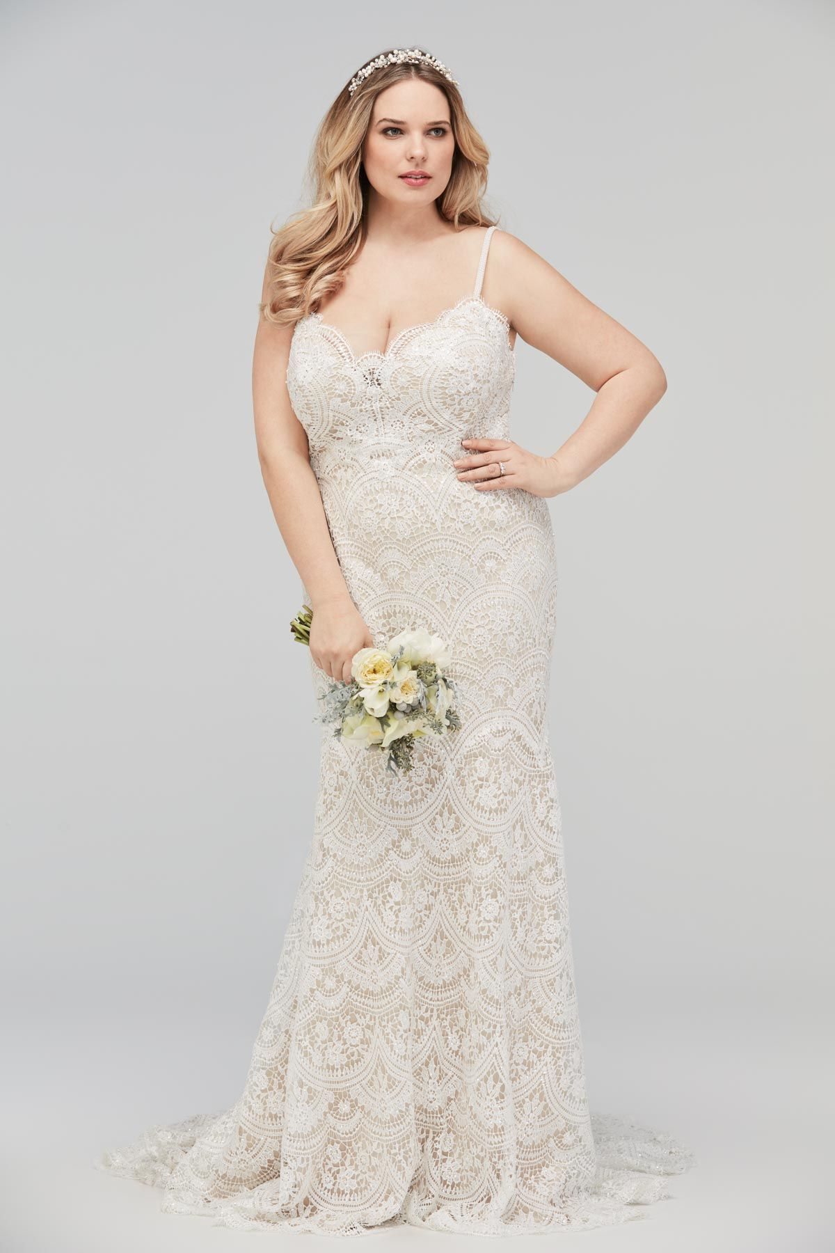 Plus Size Bridal Gown - the Elise Gown by WToo (Watters) - Curvy ...