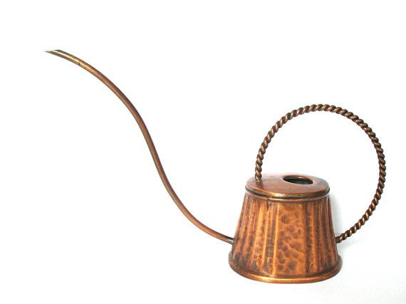 Unique gift idea for the guy or gal with everything! Copper Watering ...