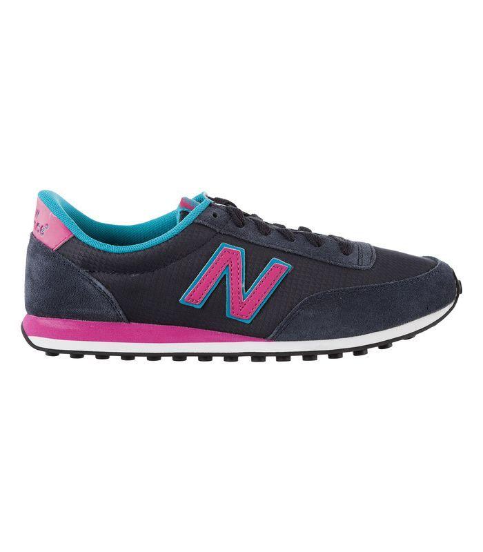 zapatos mujer de new balance y mustan