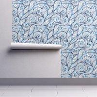 Blue Peel And Stick Wallpaper Walmart Com Peel And Stick Wallpaper Stick Wallpaper