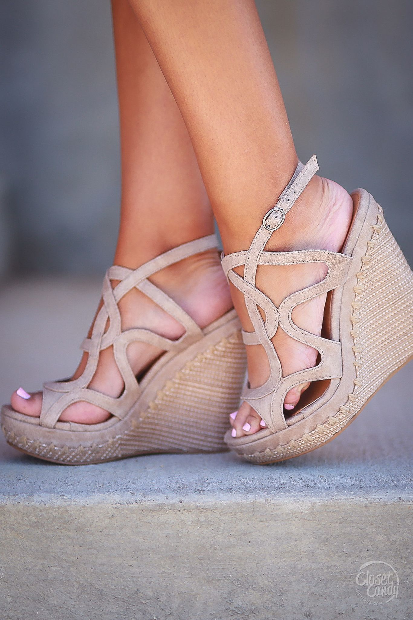 Rated Anatolia Wedges - Cream