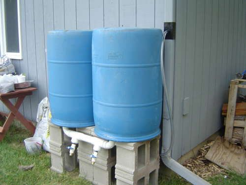 High Volume Rain Barrel Rain Barrel Rain Barrel System Rain Water Collection