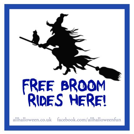 Free Broom Rides | All Halloween