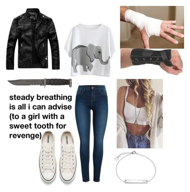 """Movie Day"" by caelan-g-chapman on Polyvore featuring Pieces, Converse and CLUSE"