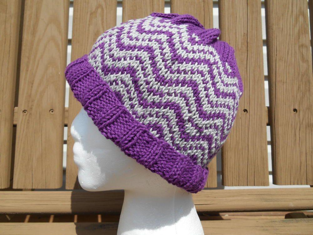 Undulations   Knitting, Hat knitting patterns, Fingerless ...