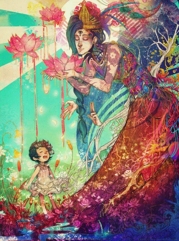 Ilustraciones Coloridas de Monique Munoz 3