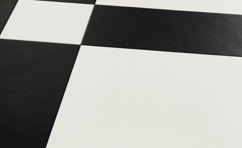 Sol Vinyle Bubblegum Motif Carrelage Noir Et Blanc Rouleau 4m Sol Vinyle Carrelage Noir Et Blanc Et Carreaux De Vinyle