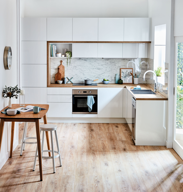 simply scandi kitchen inspiration and ideas kaboodle kitchen in 2020 scandi kitchen on kaboodle kitchen design id=87850