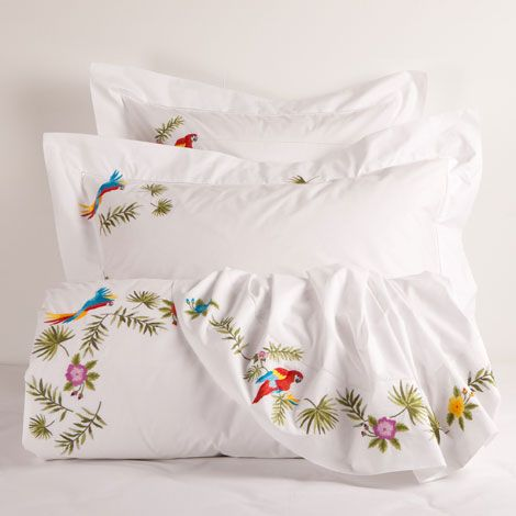 embroidered percale bedding zara home united states of america textiles pinterest bed. Black Bedroom Furniture Sets. Home Design Ideas