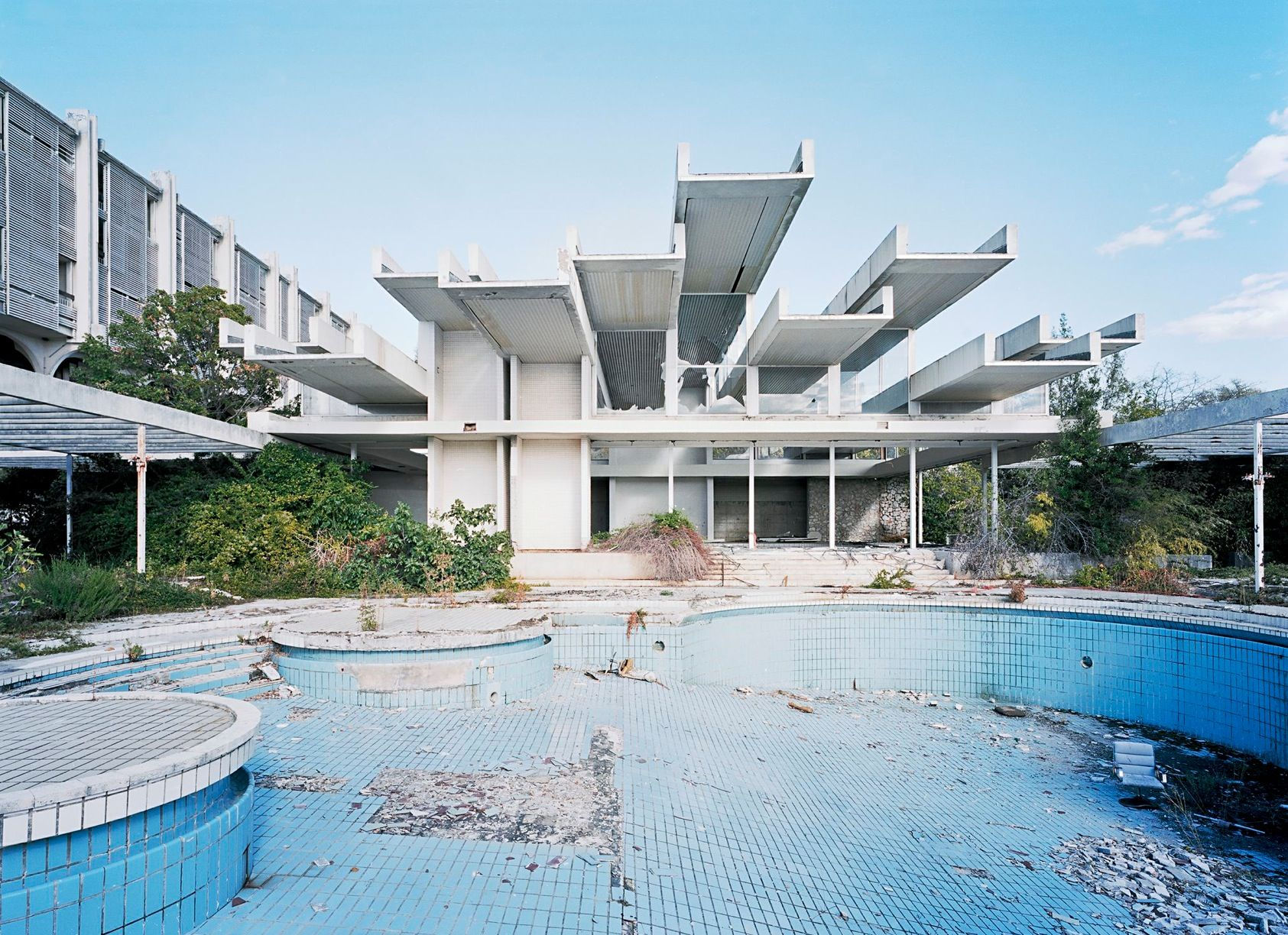 Hotel Maru Palace The Haludovo Palace Hotel Is An Abandoned Resort Hotel On The