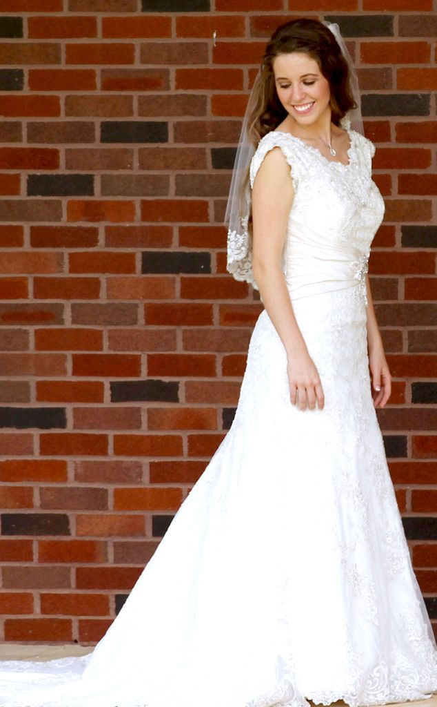 Jill Duggar Wedding S Dress Is More Stunning Than We Imagined Photo