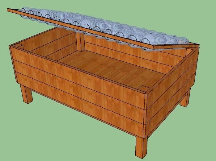 Projet de construction d\'une mini serre 100% récup (bois de ...