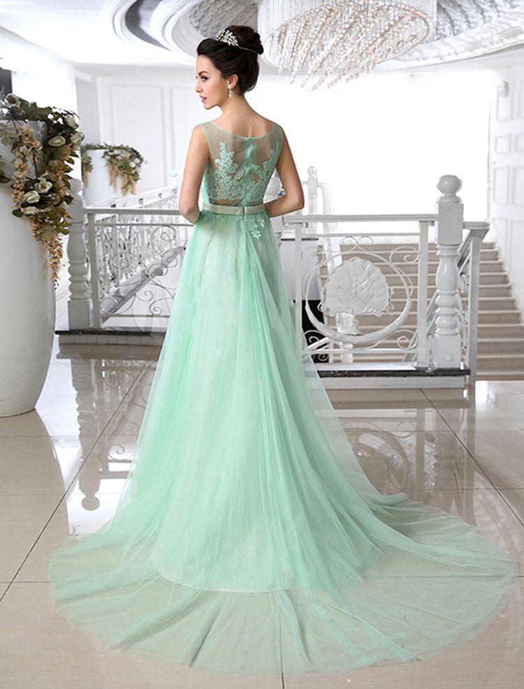 Pin by Elena Rusen on Love...green... | Pinterest | Gowns, Mint ...