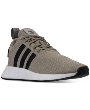 new styles be109 c3bba adidas Men's Nmd R2 Casual Sneakers from Finish Line - Tan ...