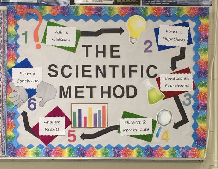 Bulletin board i made for mrs berry 39 s grade science class for Poster decoration ideas