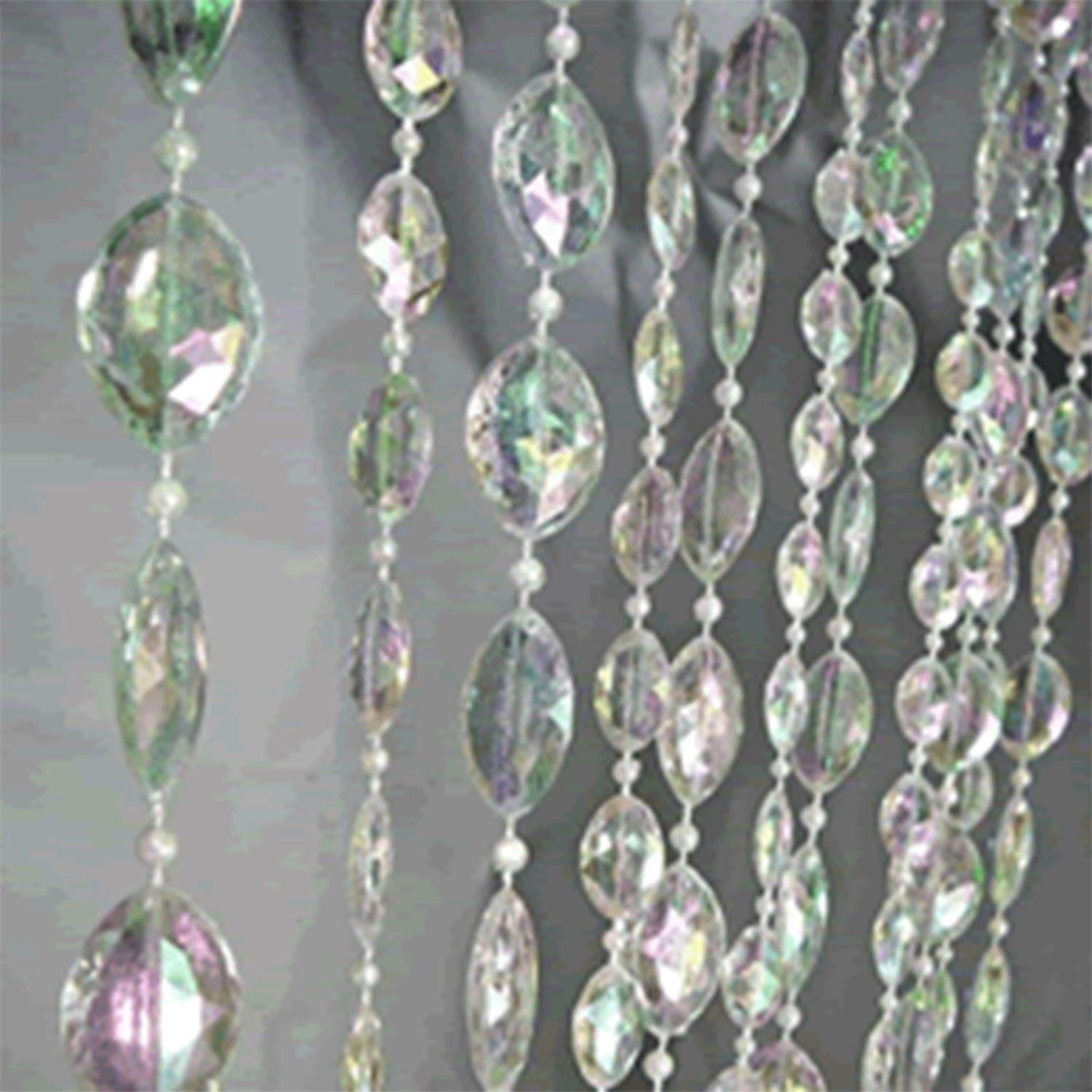12ft Tall Large Pendant Acrylic Crystal Curtain Crystal Curtains