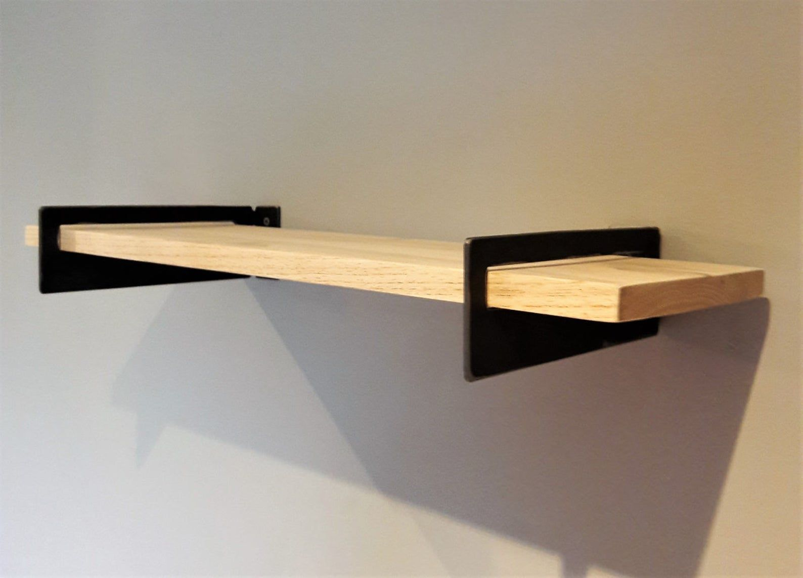 Standard Metal Shelf Brackets 2 Modern Contemporary Etsy In 2020 Metal Shelf Brackets Metal Shelves Geometric Shelves