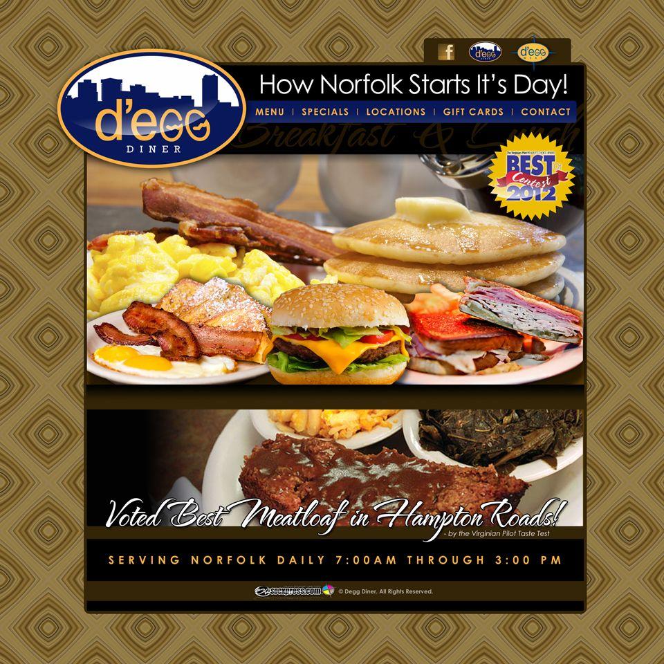 D Egg Diner Norfolk Diner Snack Recipes Food